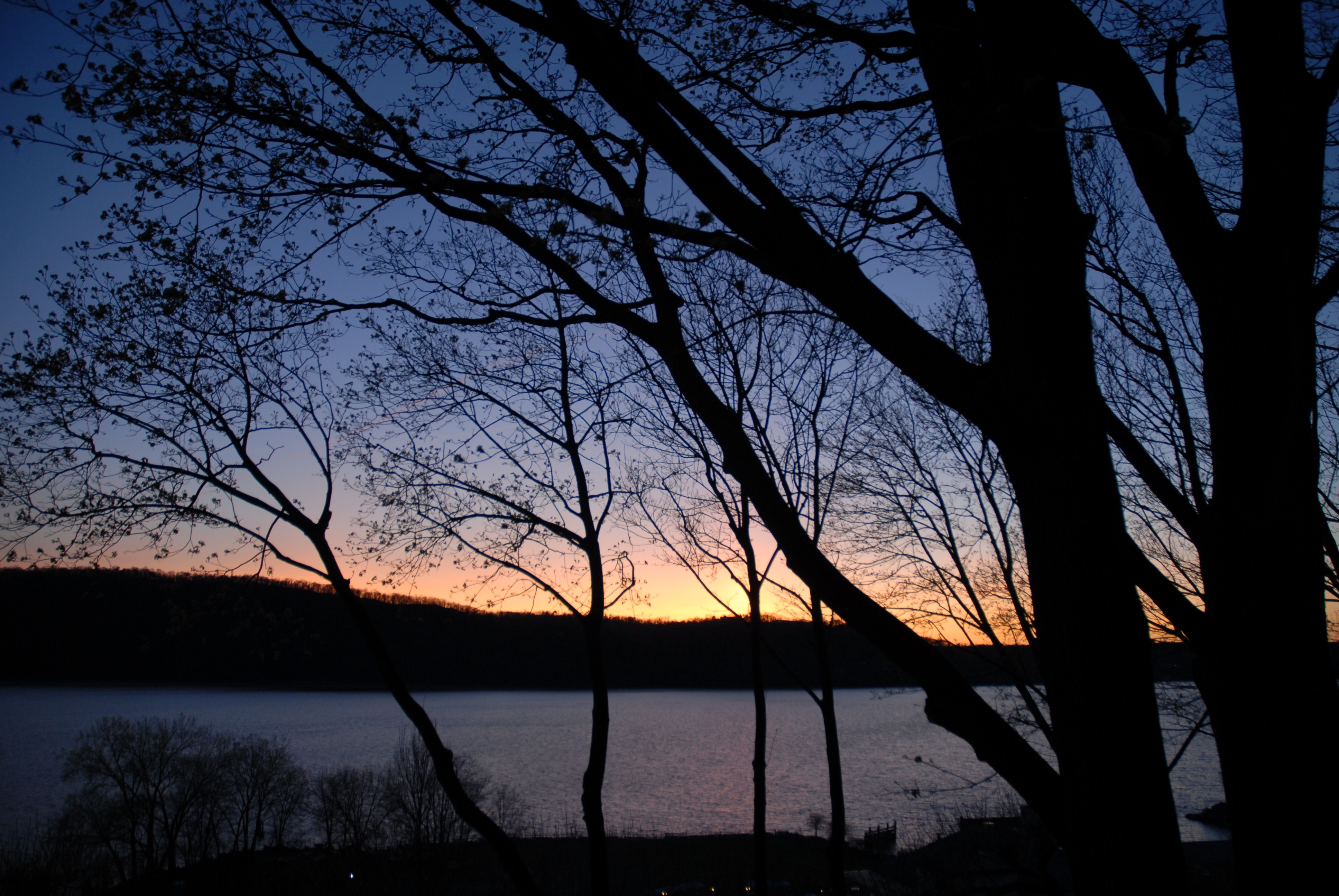 Hudson-River-Spring-Sunset