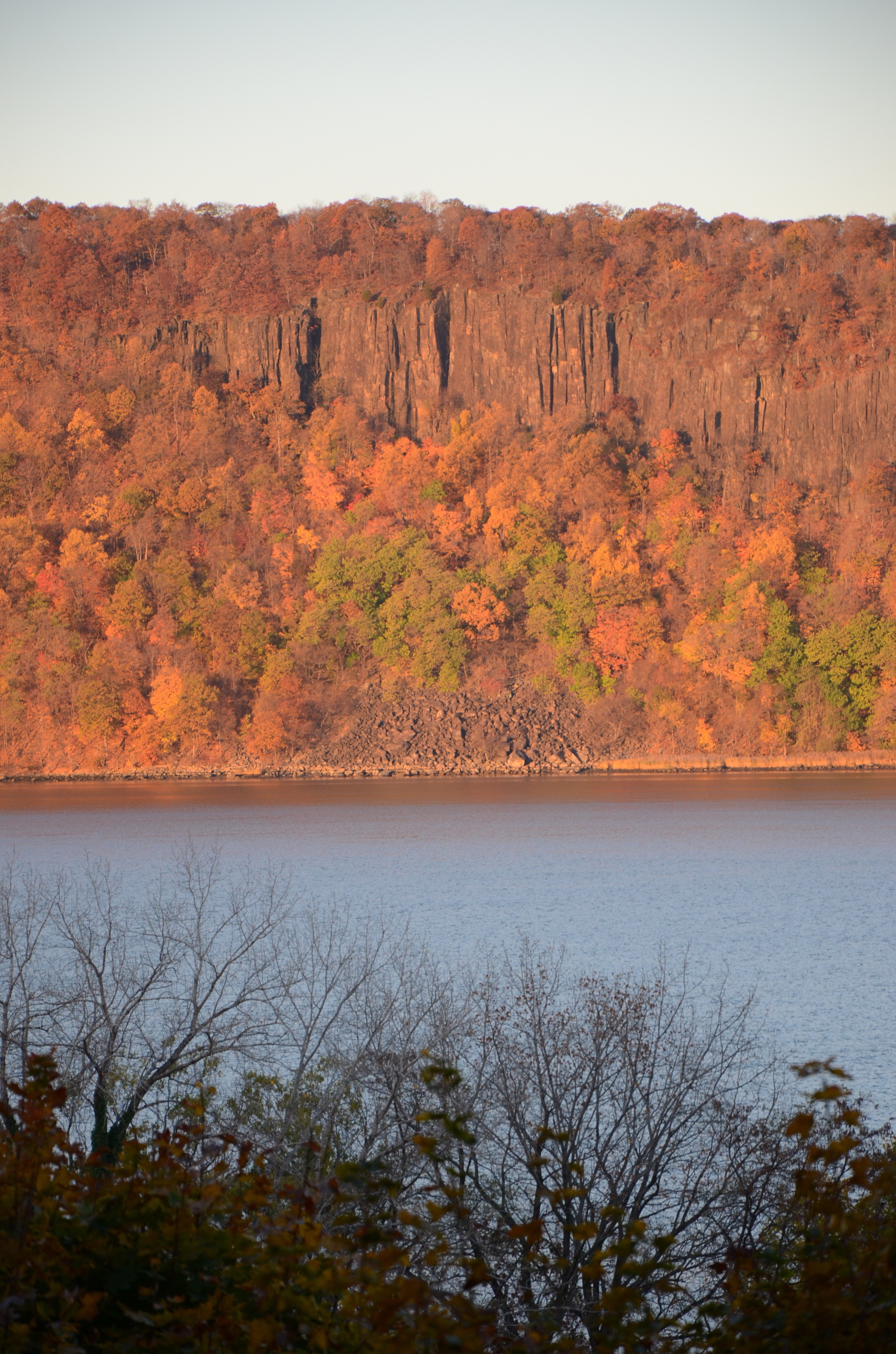 Hudson River Views Autumn Sunrise