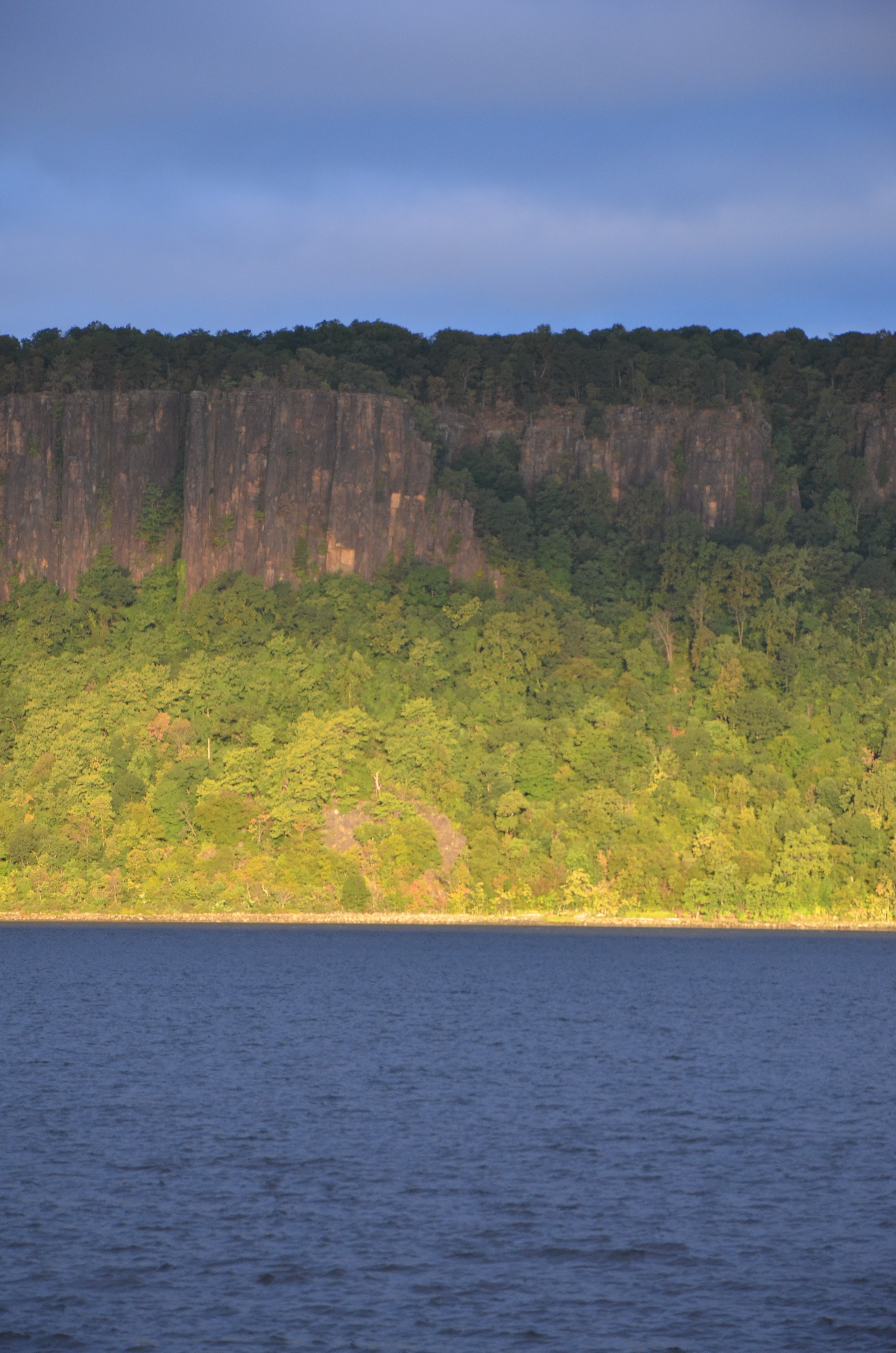 Hudson River Views Green Sunrise