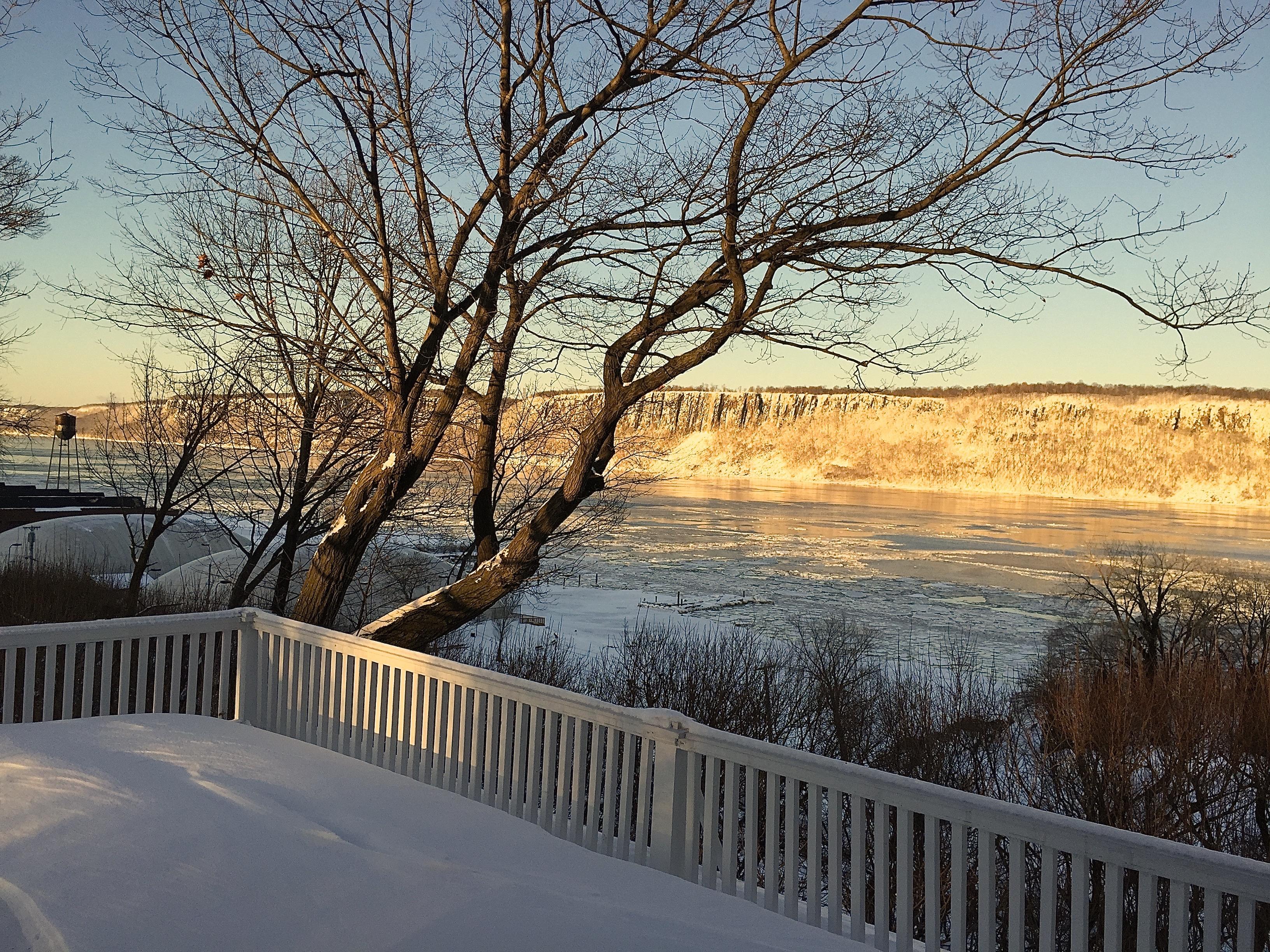 Hudson River Views Ice