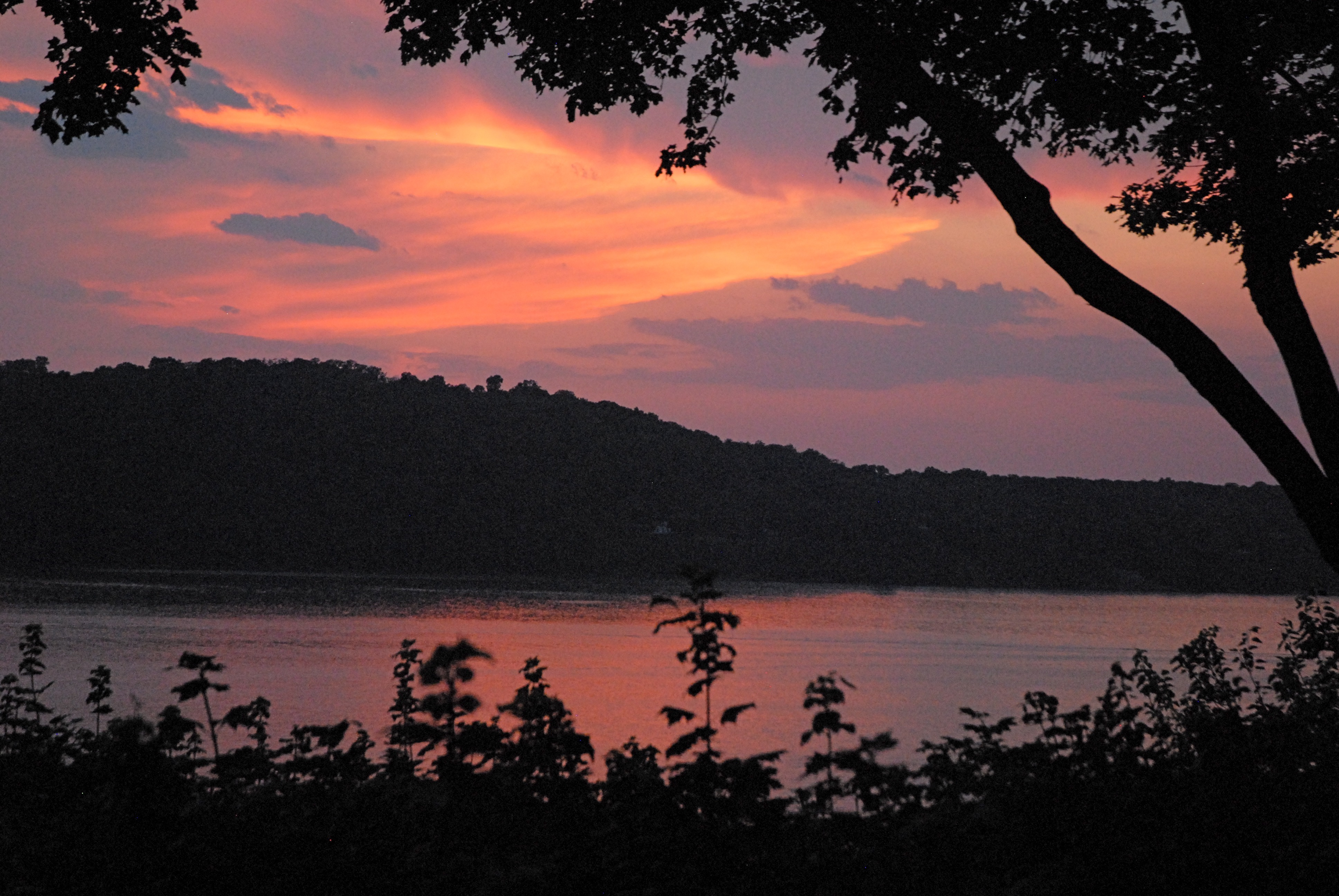 Hudson River Views Sunset 1